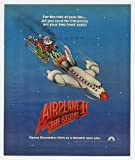 1982 Airplane II 2 The Sequel Santa Movie Promo Print Ad (Movie Memorabilia) (12883)