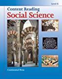 Social Science: Content Reading: Social Science, Level G - 7th Grade