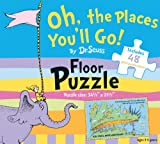 img - for Oh, the Places You'll Go! by Dr. Seuss Floor Puzzle: Includes 48 giant puzzle pieces (Dr. Seuss Giant Puzzle Boxes) book / textbook / text book