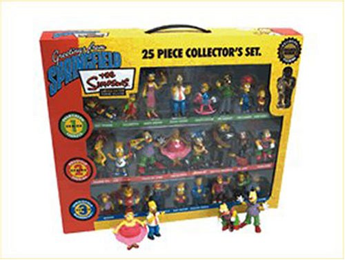 Winning Moves - Simpsons 25 Piece Collectors Set