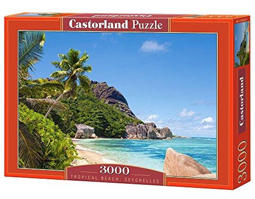 Castorland C-300228-2 - Tropical Beach, Seychelles,