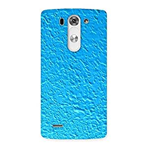 Cute Premier Blue RPattern Back Case Cover for LG G3 Beat