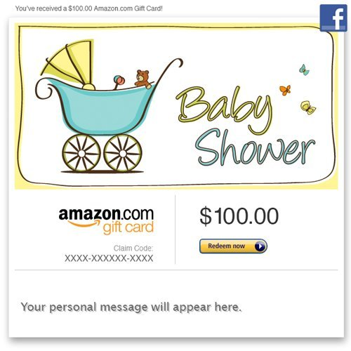 Amazon Gift Card - Facebook - Baby Shower front-361333