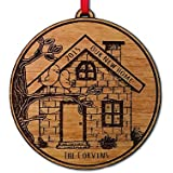 Our NEW Home 2015 2014 or Any Year Christmas Ornament Personalized New House Engraved