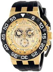 Swiss Legend Men's 10125-YG-010 Challenger Analog Display Swiss Quartz Black Watch