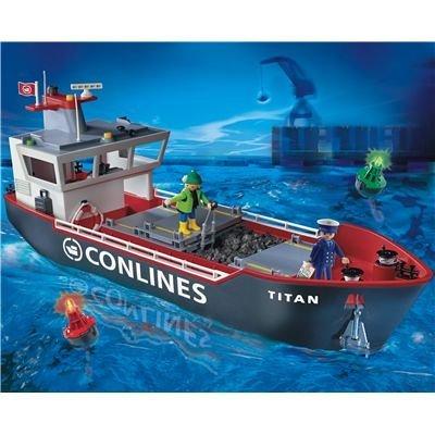 プレイモービル のりもの 貨物船 4472