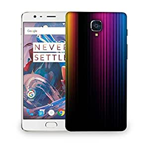 Snoogg Spectrum Of Light Designer Protective Phone Back Case Cover For OnePlus 3