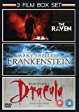 Mary Shelley's Frankenstein (1994) / The Raven (2011) / Bram Stoker's Dracula (1992) - Triple Pack [DVD]