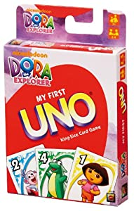 UNO My First Uno - Dora the Explorer