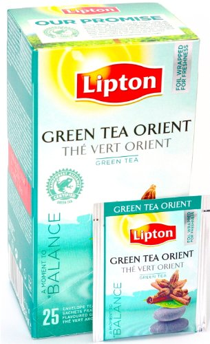Lipton TCHAE Green Tea Orient in New Packaging 6 Boxes