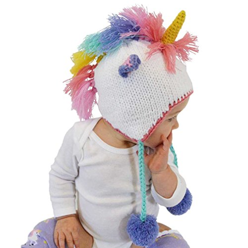 Huggalugs-Baby-and-Toddler-Unicorn-Beanie-Hat