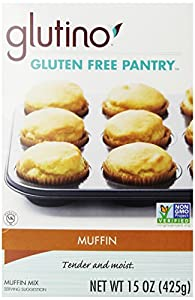Gluten Free Pantry Muffin Scone Mix Wheat Free 15 Oz (Pack of 6)