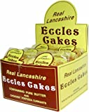 Real Lancashire Eccles Cakes (Pack of 12, 4 Pack Each)