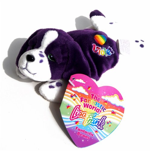Violet the Dog - Lisa Frank Beanie Plush