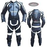 Lederkombi Motorrad Leder Kombi von PROANTI® Motorradkombi 2 Teiler Größe: 54