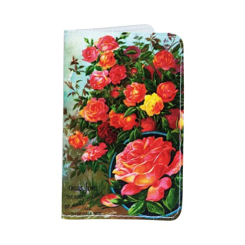 rose-plants-business-credit-id-card-holder