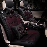 Wshelley-Autositzbezge-Vier-Jahreszeiten-General-Leder-Eis-Seide-Fnf-Sitze-Universal3D-volle-Palette-Verpackung-black