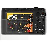3 x atFoliX Schutzfolie Sony DSC-HX50V Displayschutzfolie - FX-Antireflex blendfrei