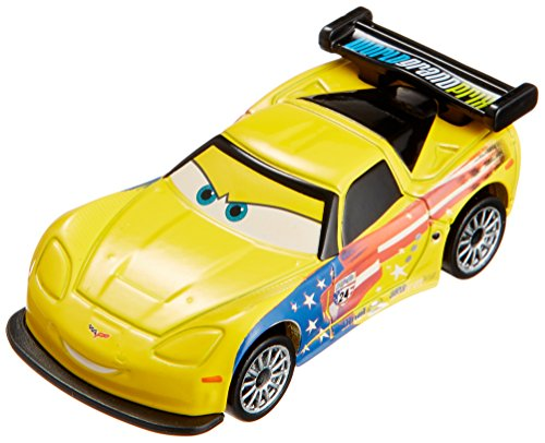 Tomica Disney Pixar Cars Jeff Gorvette C-27 (Japan) - 1