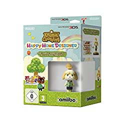 Animal Crossing: Happy Home Designer + Amiibo Isabelle /3DS