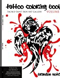 Tattoo Coloring Book VOLUME 1: Sacred Saint Skin Art Gallery