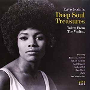 Dave Godin's Deep Soul Treasures ~ Taken From The Vaults [VINYL]