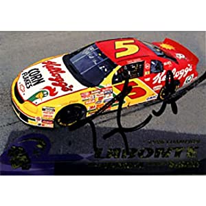 Terry Labonte Autographed Signed 1997 Press Pass Racing Card by Hollywood Collectibles
