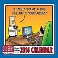 "Dilbert 2014 Mini Wall Calendar: I Need Something Called a ""Decision."""