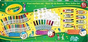 Crayola - Maxi Kit Rotuladores 58-1301