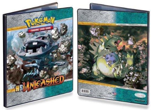Pokemon CCG: HeartGold SoulSilver Unleashed 9-Pocket Portfolio Combo Album (Pokemon Trading Card Album / Binder) 82525 - 1