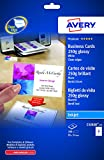 Avery 250gsm Double Sided Glossy Inkjet Business Cards (Pack of 200)
