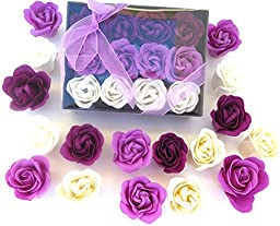Rose Bath Bomb, 12 Rose in the Elegant Box. birthday gift for girls, mom.