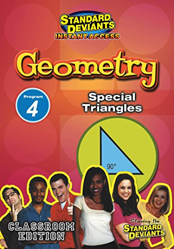 Sds Geometry Module 4: Special Triangles [Instant Access]