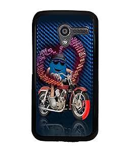 Printvisa 2D Printed Love Designer back case cover for Motorola Moto X- D4193