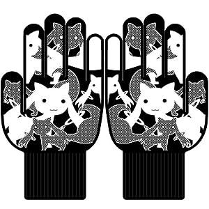 劇場版 魔法少女まどか☆マギカ 新編 叛逆の物語×新日本軍手 コラボ軍手 キュゥべえ柄