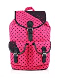 Shaun Design Pink Heart Backpack