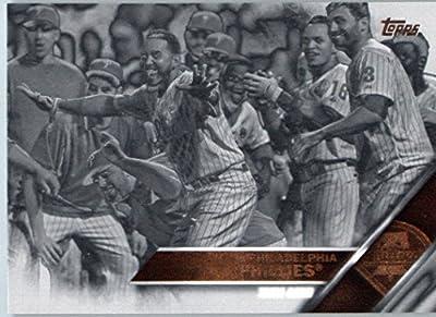 2016 Topps Series 2 #431 Philadelphia Phillies Philadelphia Phillies Baseball Card-MINT