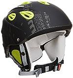 Alpina Grap Casque de ski pour adulte Noir Noirjaune mat 54 57 cm