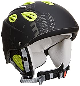ALPINA Skihelm Grap, Black-Yellow Matt, 54-57, 9036237