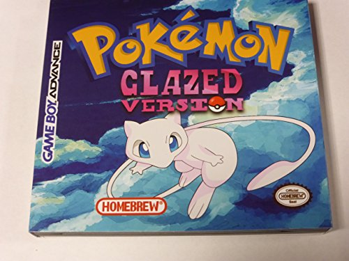 Pokemon Glazed - Game Boy Advance - Nintendo - Homebrew / Fan Translation (Gameboy Pokemon Console compare prices)