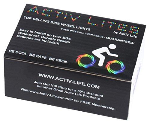 Super Cool LED Bike Wheel Lights - Best Birthday Gifts & Presents