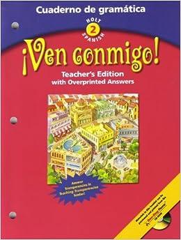 Holt Spanish 2 ¡Ven Conmigo! Cuaderno De Gramática ...