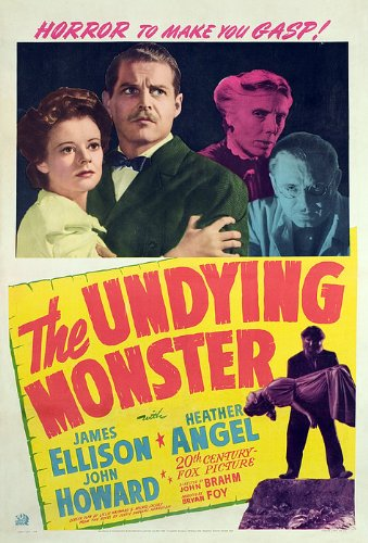 The Undying Monster Vintage Film Poster