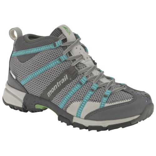 Buy Montrail Ladies Mountain Masochist Mid OutDry Shoe, Stainless Reef, Sz 7.5 by Montrail