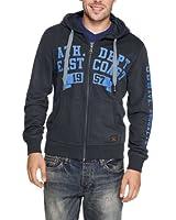 s.Oliver Herren Sweatshirt Jacke 13.308.43.5514