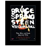 BRUCE SPRINGSTEEN - Wrecking Ball Matted Mini Poster - 28.5x21cm