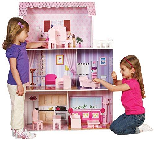 Teamson KYD-10922A Kids Möchtest Mansion Puppenhaus