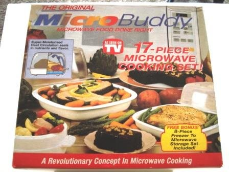 As seen on TV Micro Buddy 17 Pieces Microwave Cooking Set