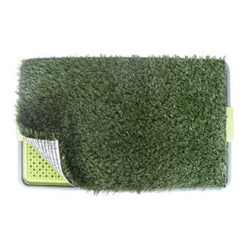 """Pet Potty Dog Park Patch Mat House Trainning Pad Indoor 27"""" X 17"""" X 3"""" front-95101"""