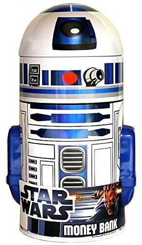 Star Wars R2-D2 Shaped Tin Bank - 1